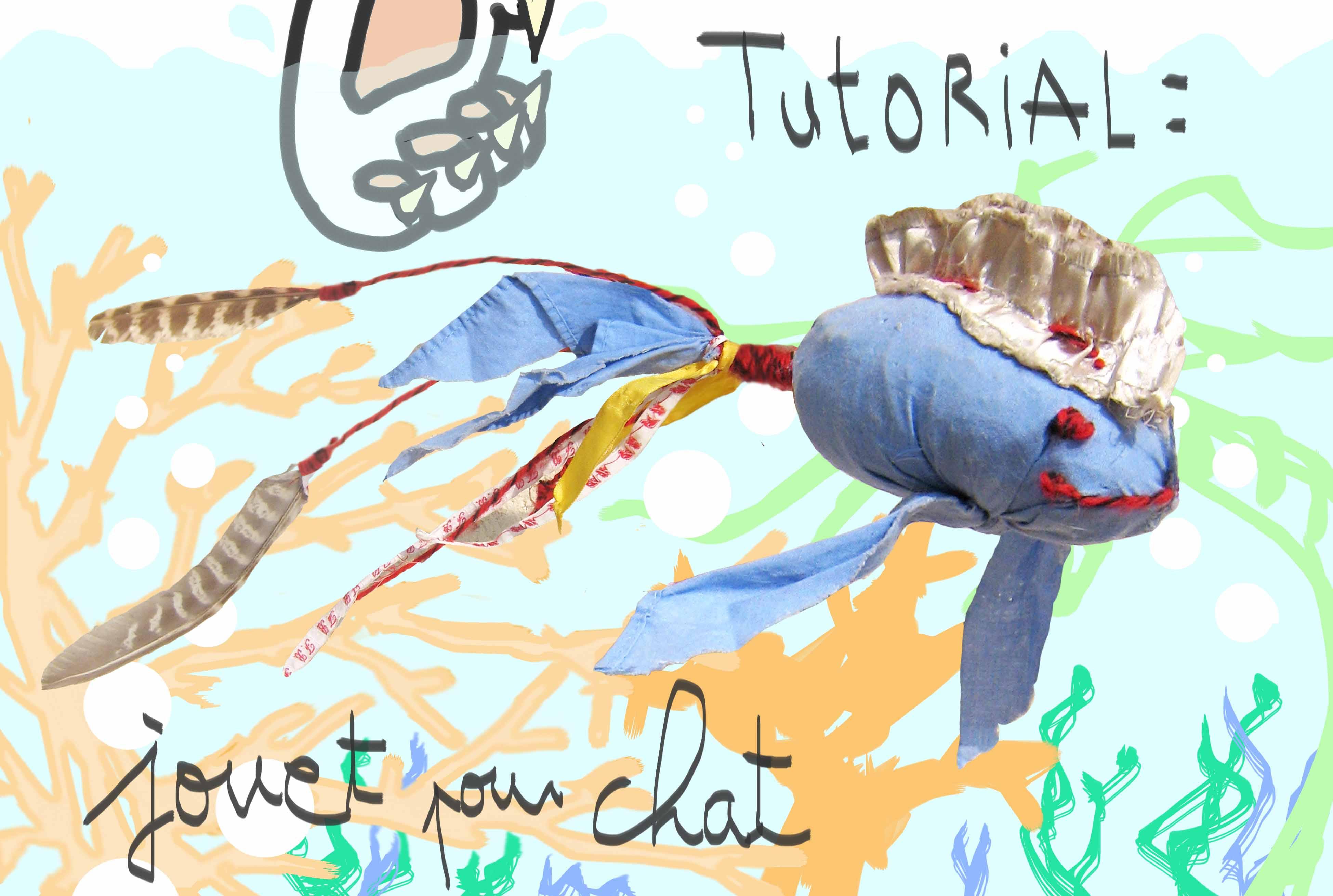 tutorial jouet pour chat
